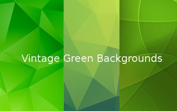 Vintage Green backgrounds