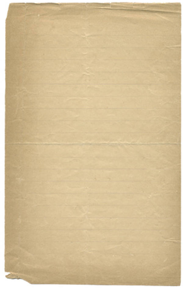 Vintage Lined Paper Background For Free