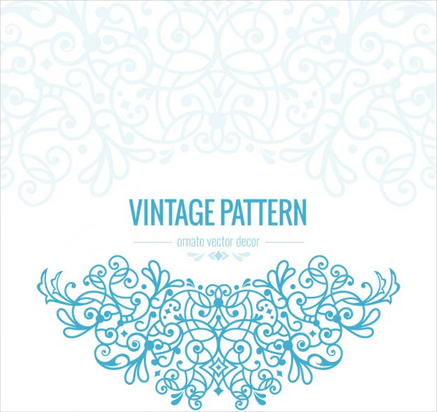 Vintage Ornate Pattern Free Vector