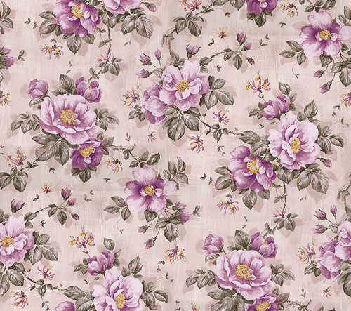 18+ Vintage Floral Wallpapers