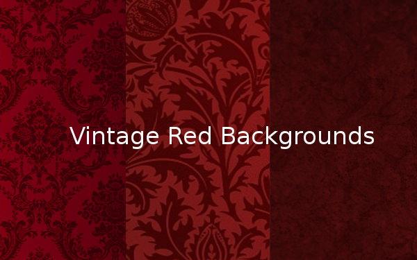 Vintage Red Backgrounds
