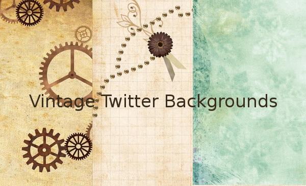 Vintage Twitter Backgrounds