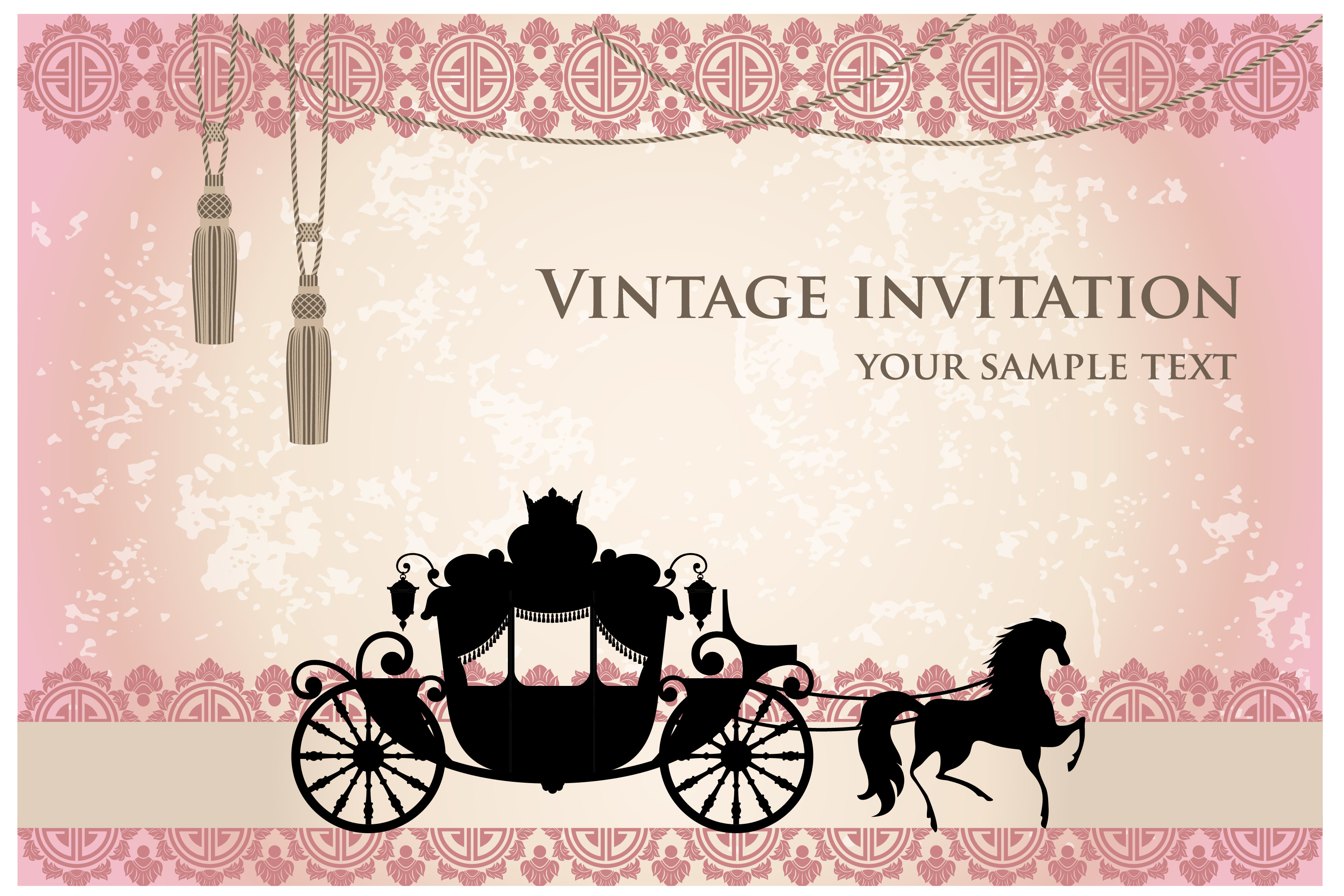 Free Wedding Invitation Background Designs: Vintage Wedding Backgrounds