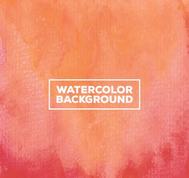 Watercolor Background in Gradient Style