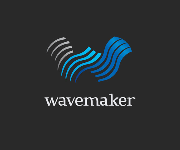 WaveMaker Construction Logo For Free