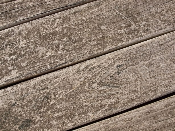 Weathered Wood Plank Wallpaper