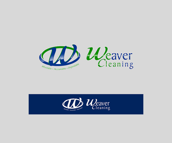 Weaver Cleaning Service Logo For Free