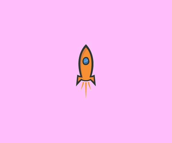 Web Hosting Rocket Logo Design For Free