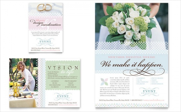 Wedding & Event Planning Flyer & Template