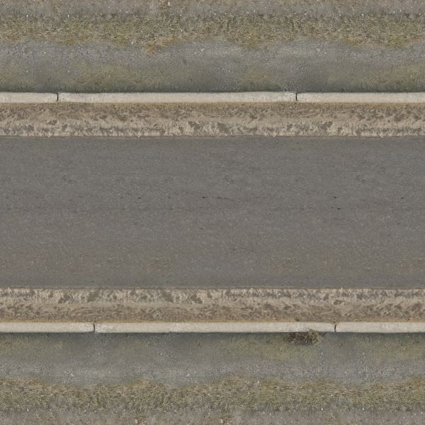 Wet Seamless Road Texture