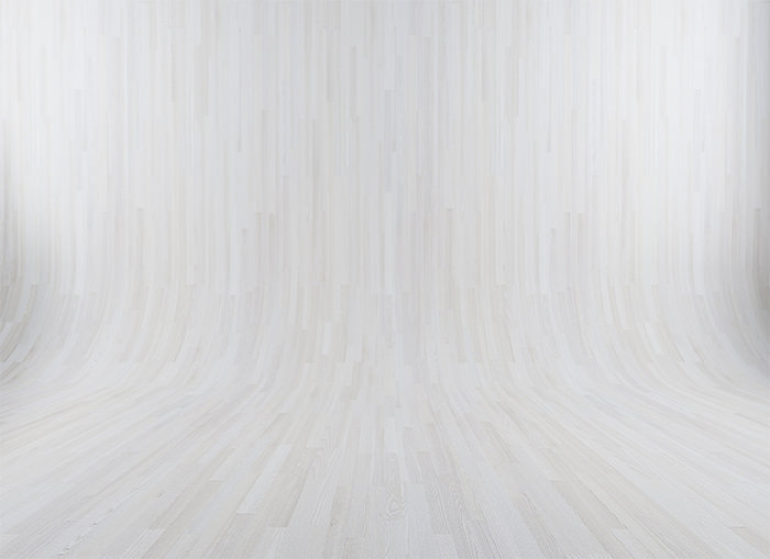 White Curved Wooden Background Texture
