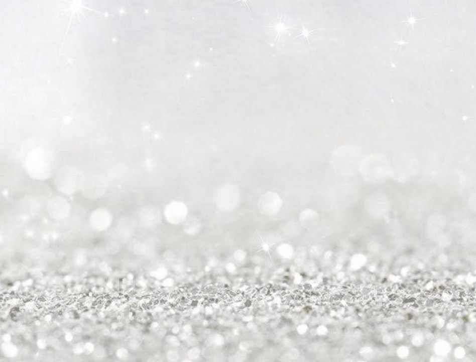 White Glitter Background Wallpaper