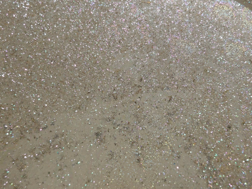 White Glittery Background