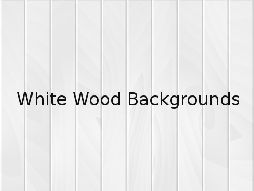 White Wood Backgrounds