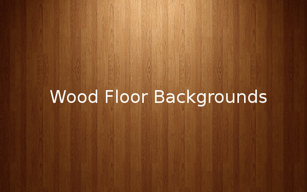 Wood Floor Backgrounds