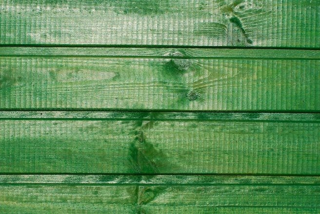 Wood Plank Green Texture Background