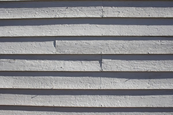 Wooden Siding Painted White Texture