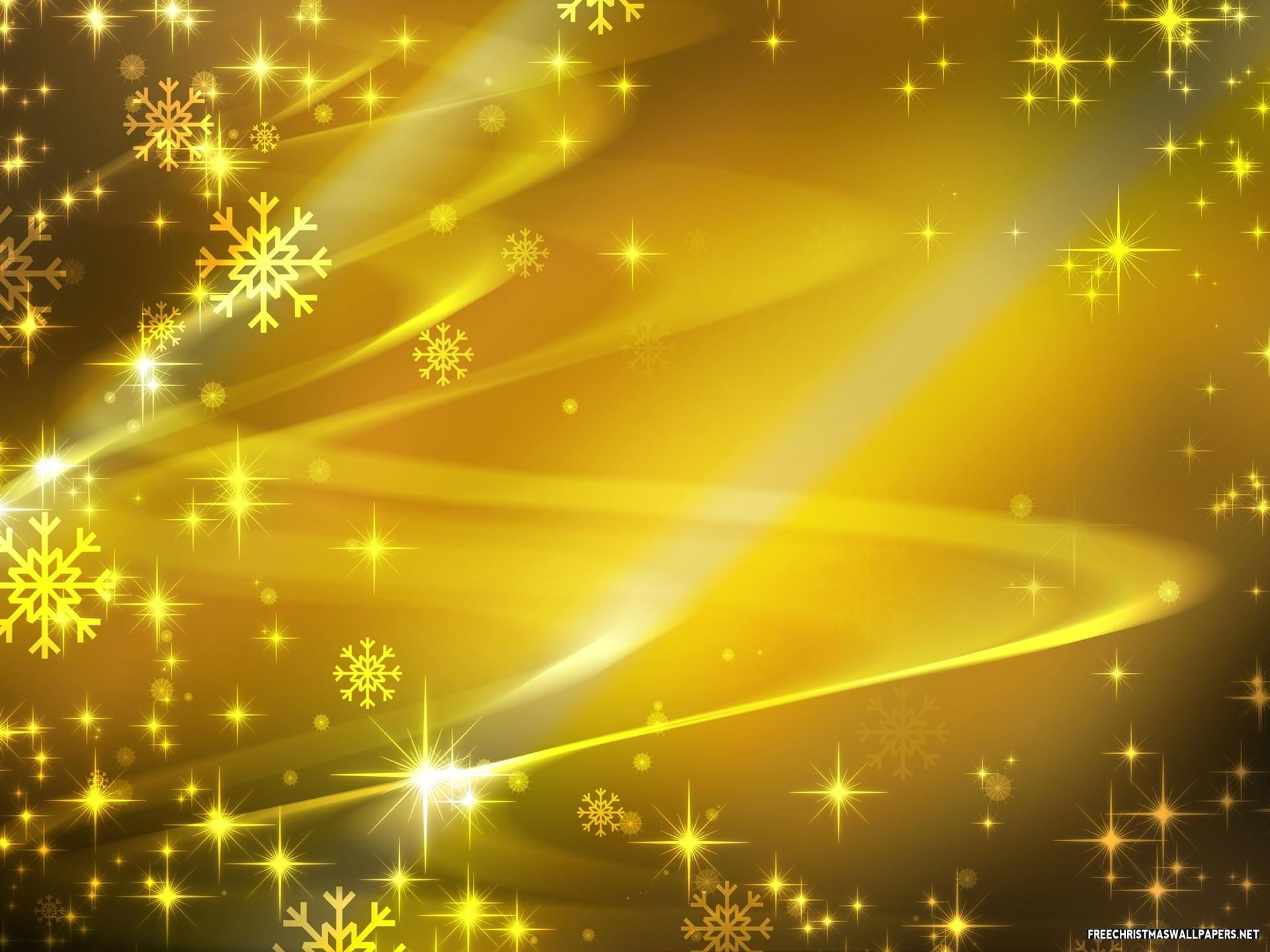 Yellow Glitter Wallpaper Background
