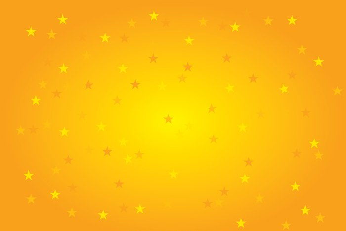 Yellow Stars Background