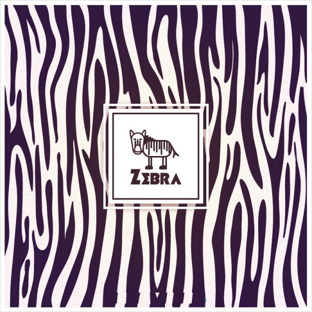 Zebra Pattern Free Vector For Download