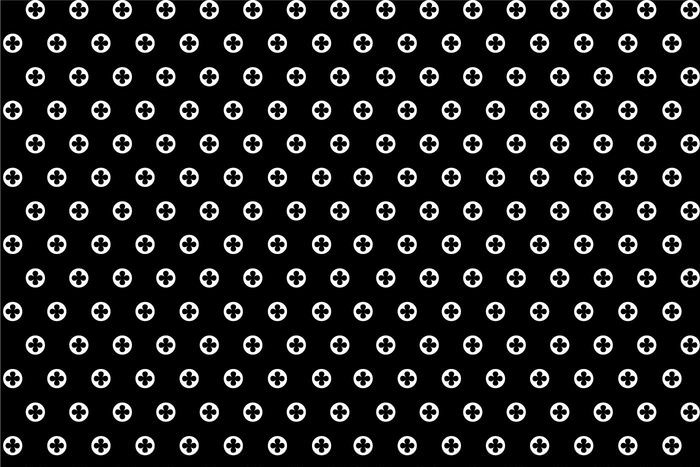 vector-black-and-white-polka-dot-pattern