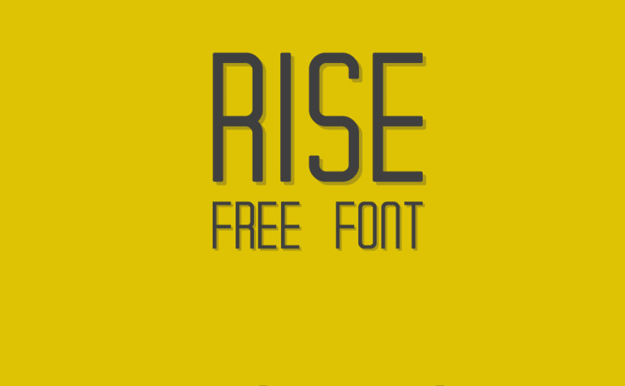Beautiful Rise Font