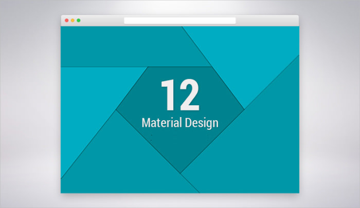 12 High Resolution Material Design Patterns