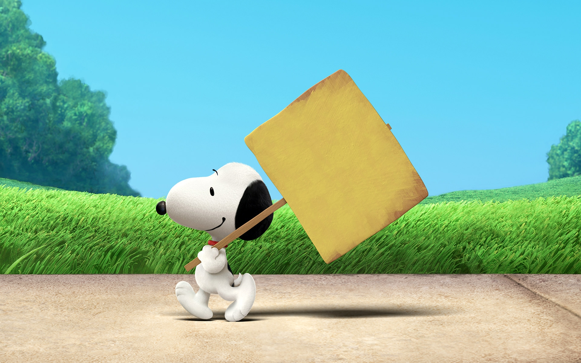 Simple Snoopy Wallpaper
