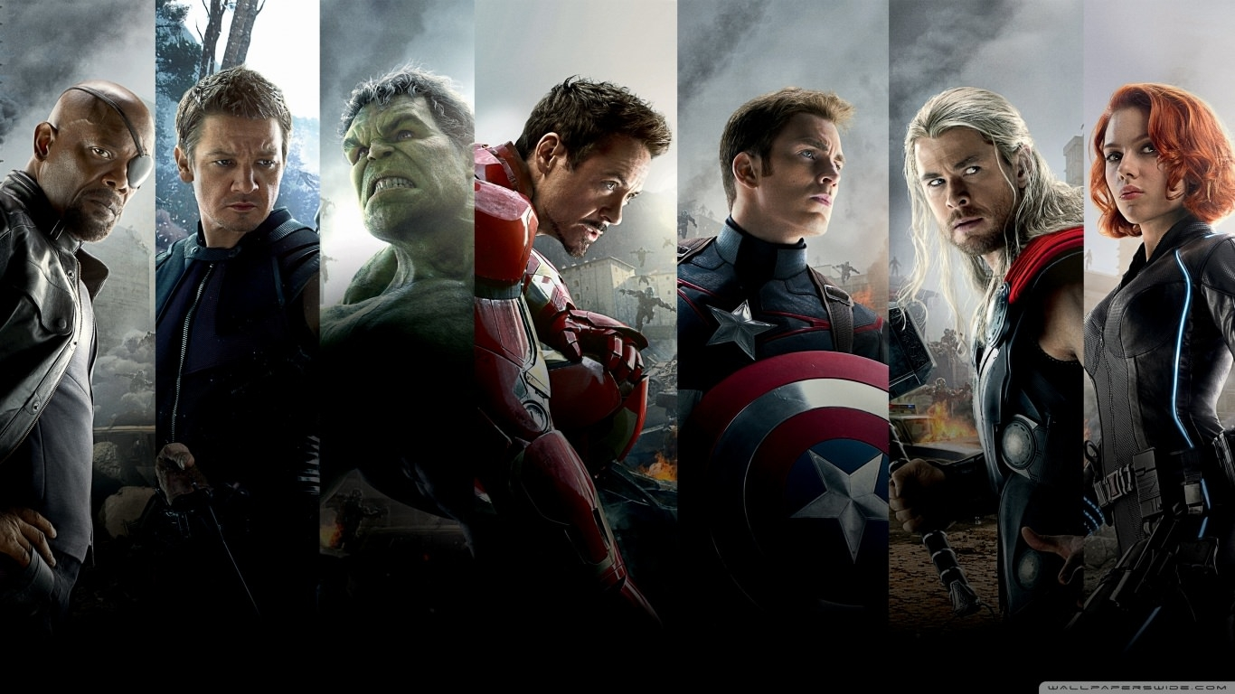 The Avengers Age of Ultron Team Wallpaper