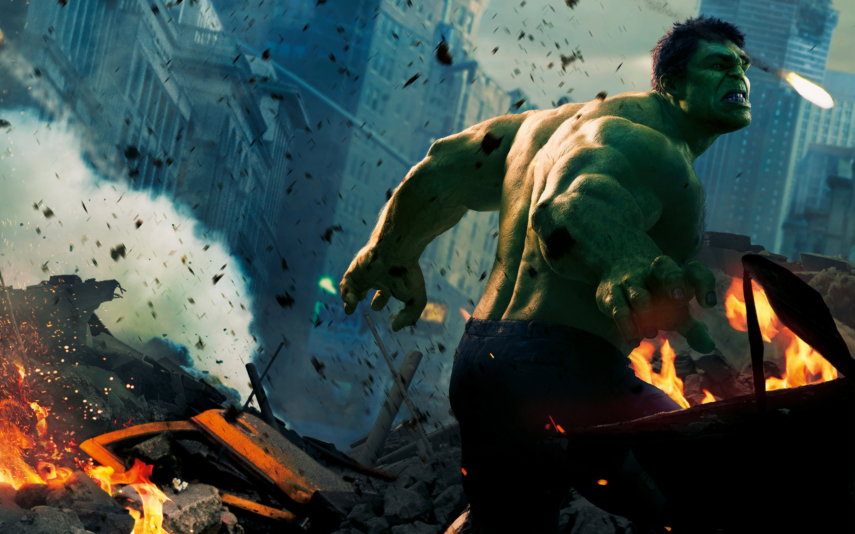 Hulk in 2012 Avengers Wallpaper