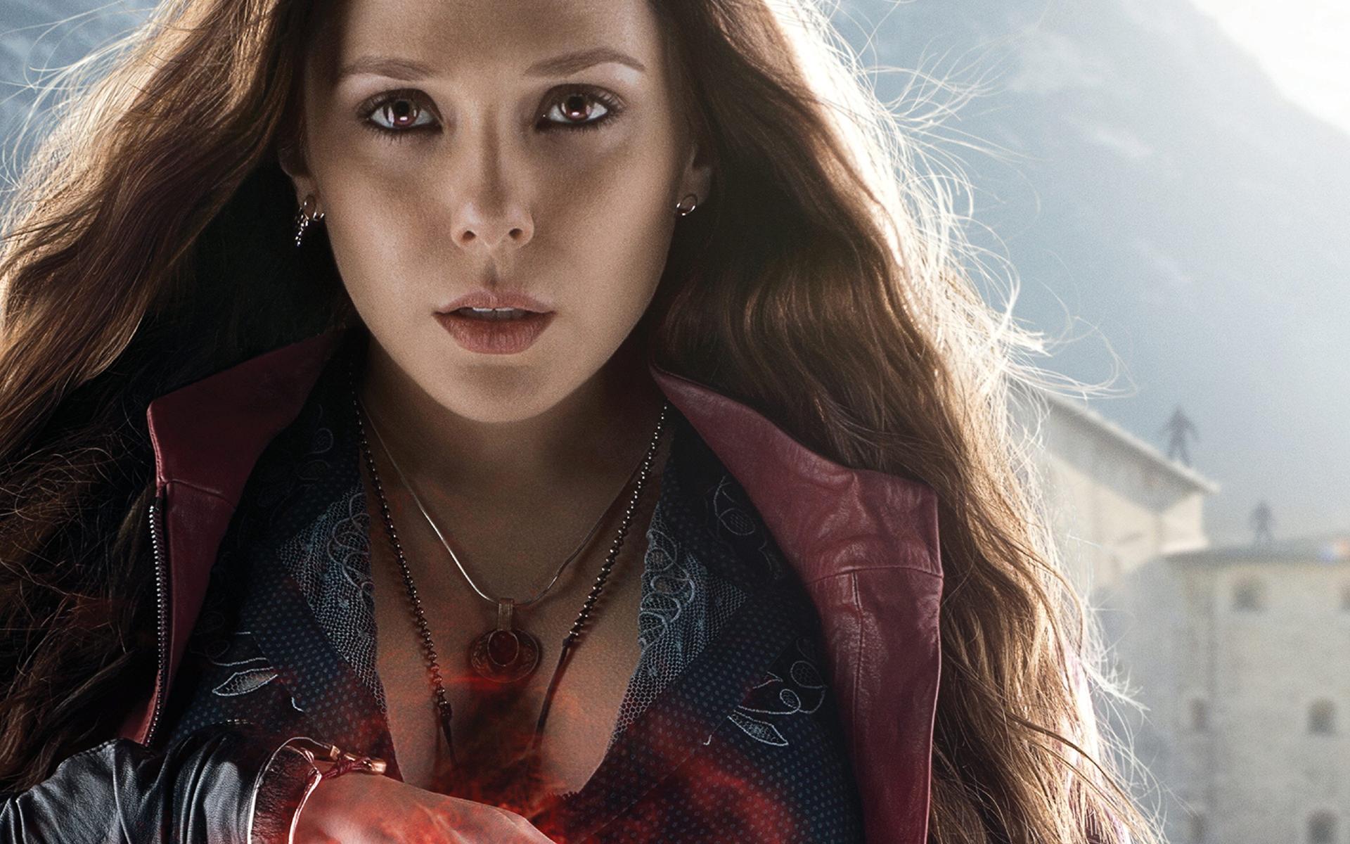 Elizabeth Olsen Avengers Wallpaper