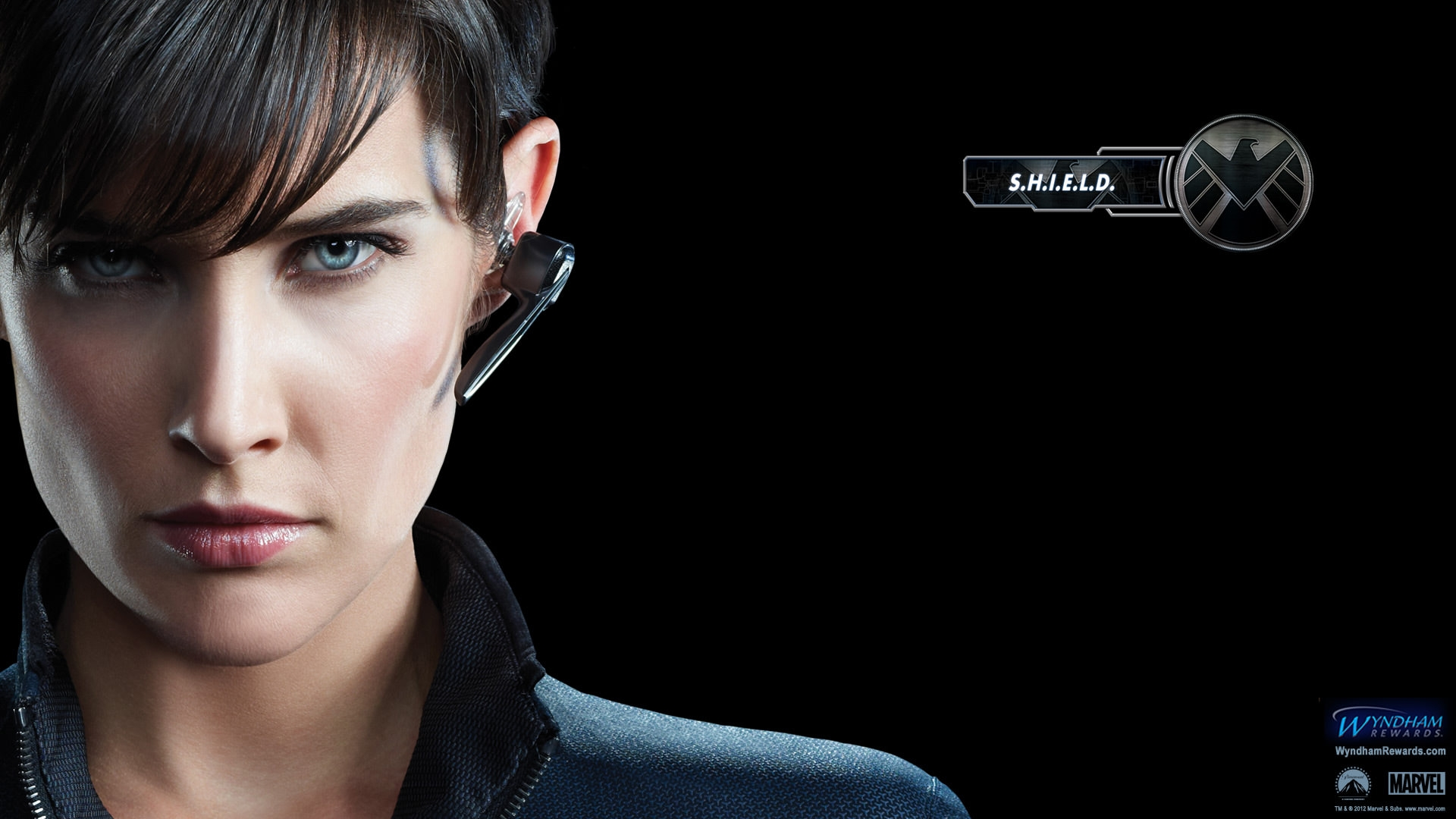 Cobie Smulders Avengers Wallpaper