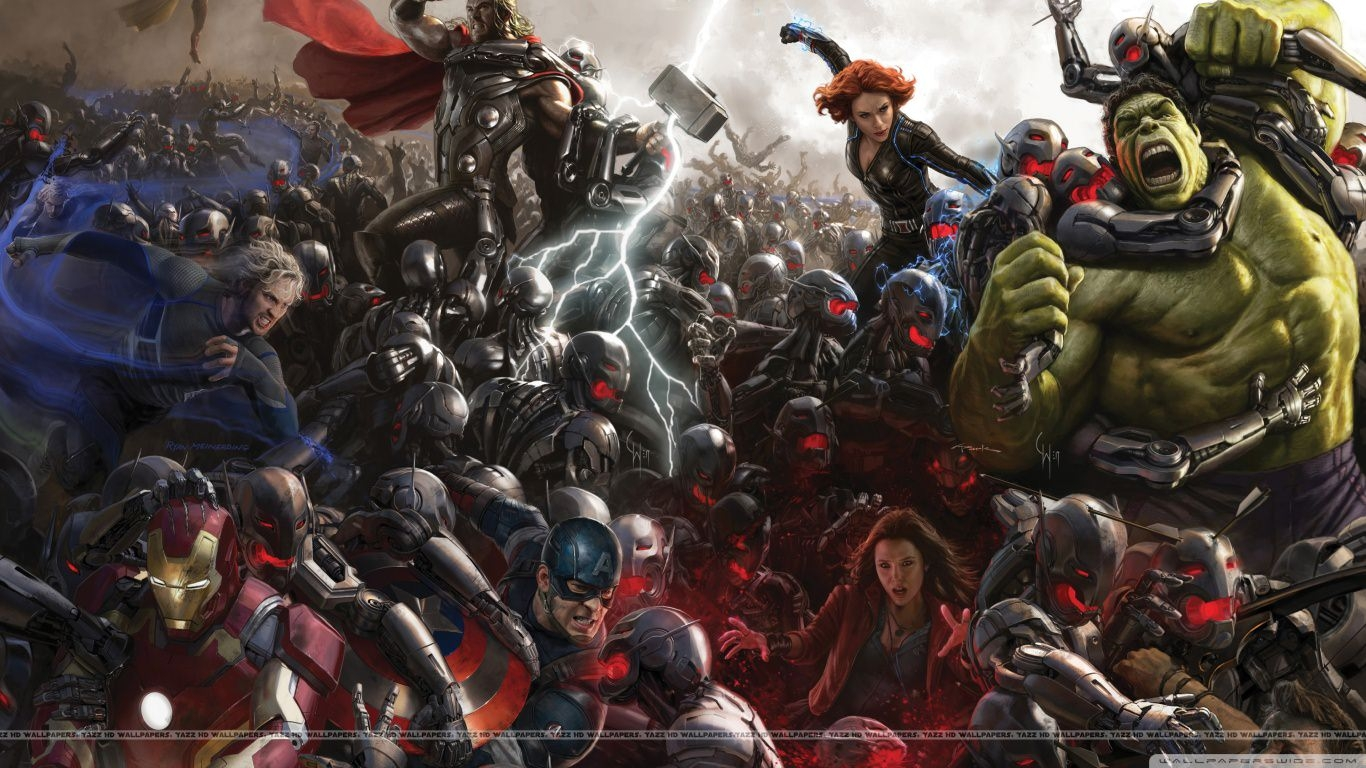 Avengers Age of Ultron 4K Wallpaper