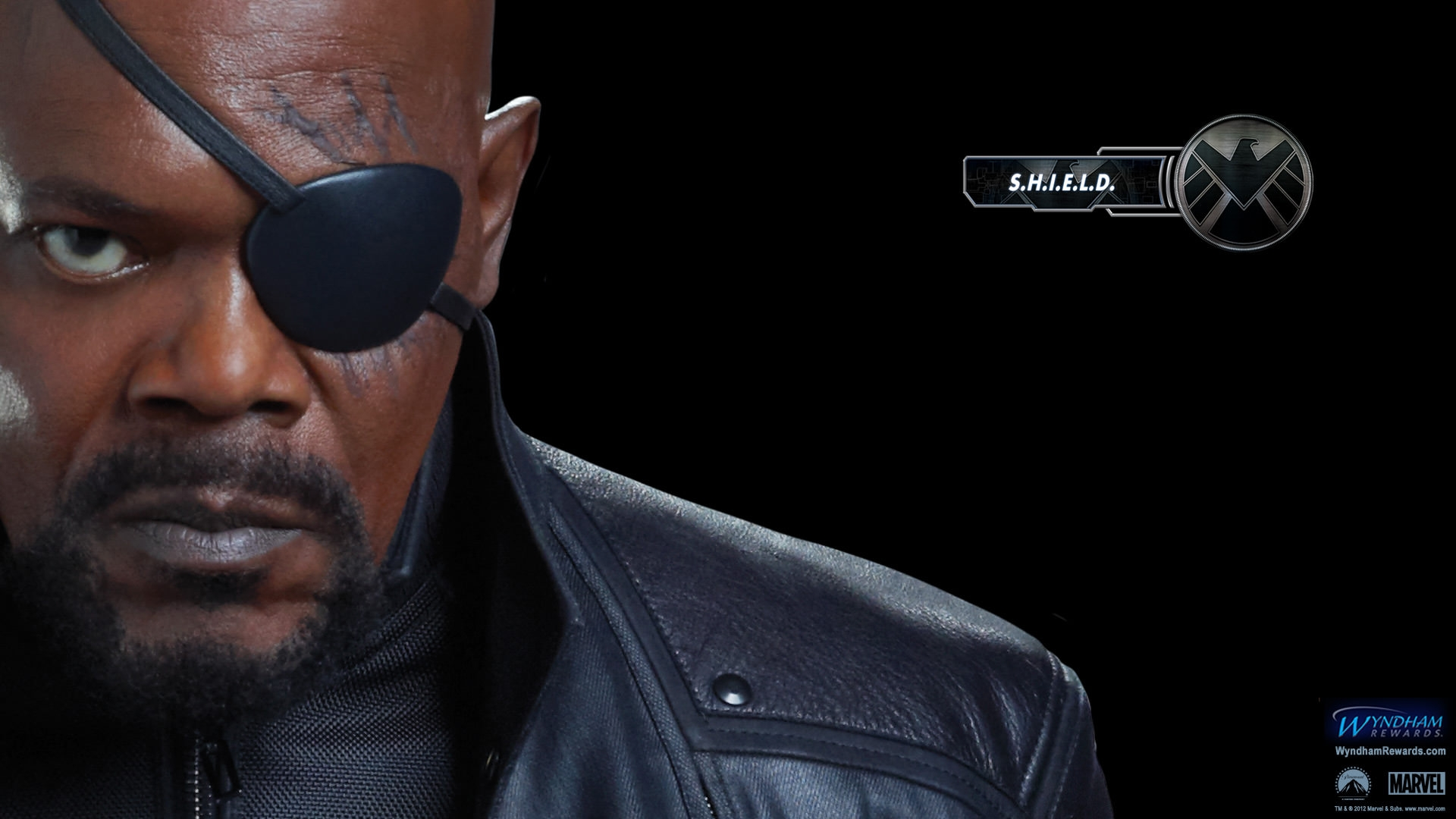 Samuel L Jackson Nick Fury Wallpaper