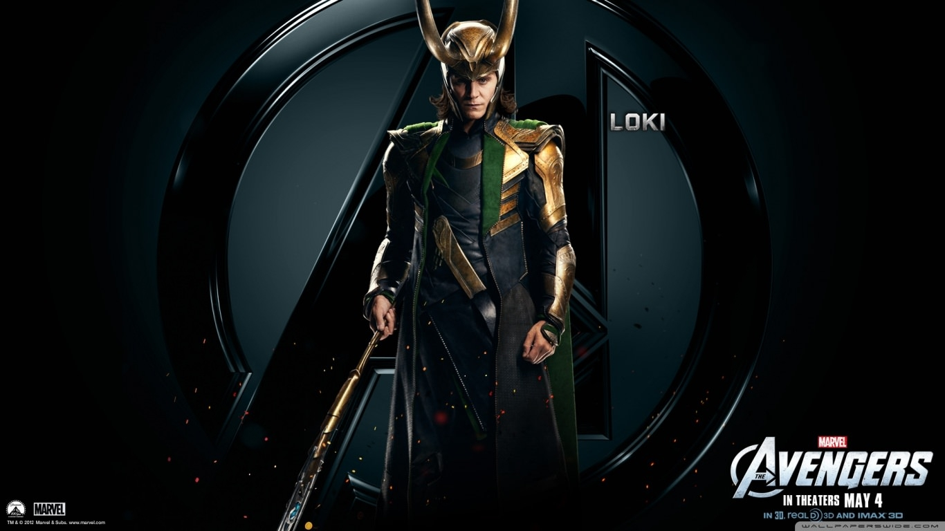 The Avengers Loki Wallpaper