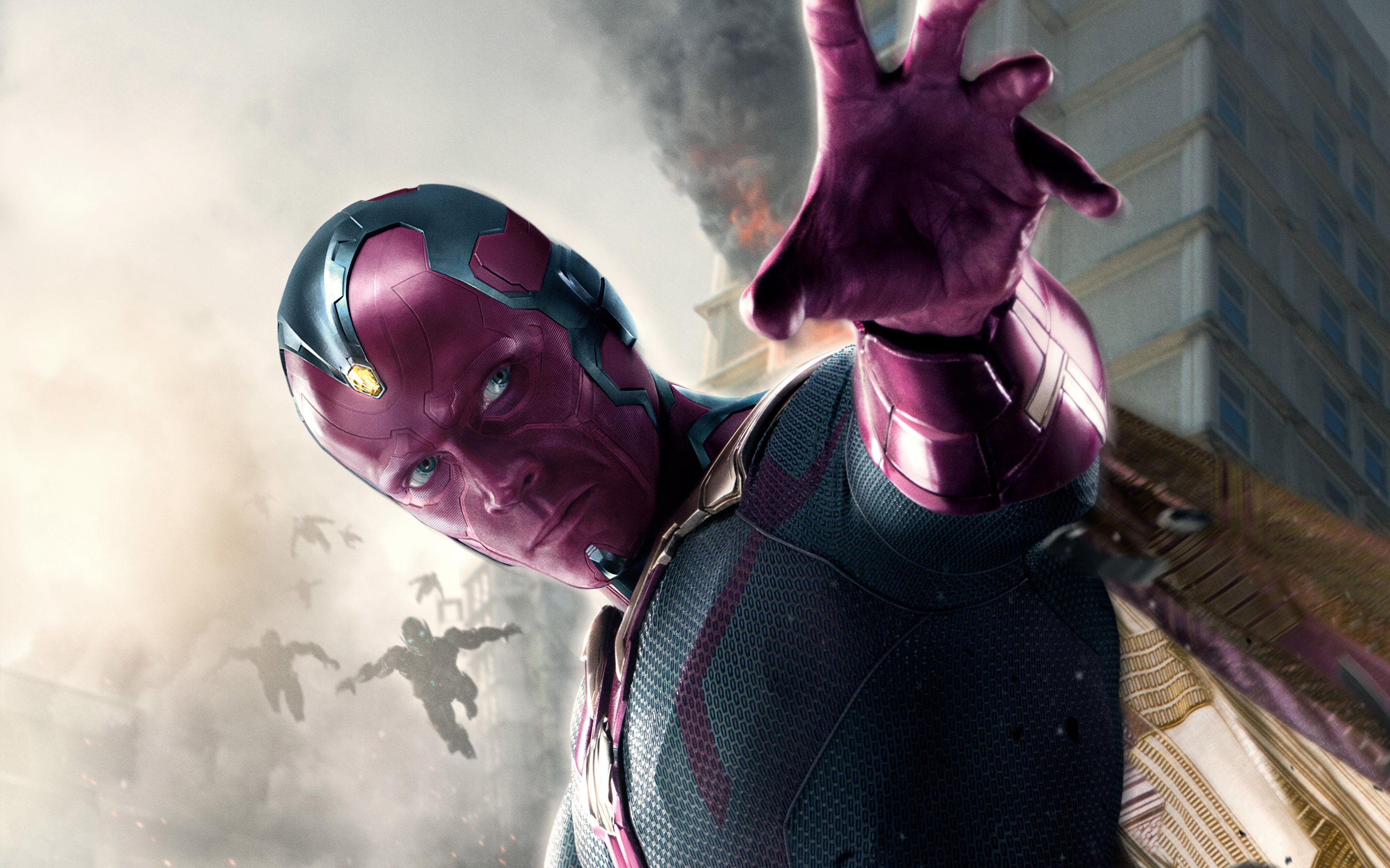 Vision Avengers Age of Ultron Wallpaper
