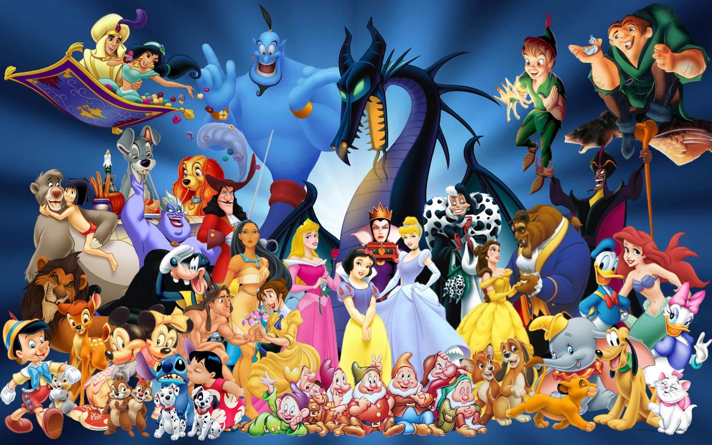 Disney Springtime Desktop Wallpaper