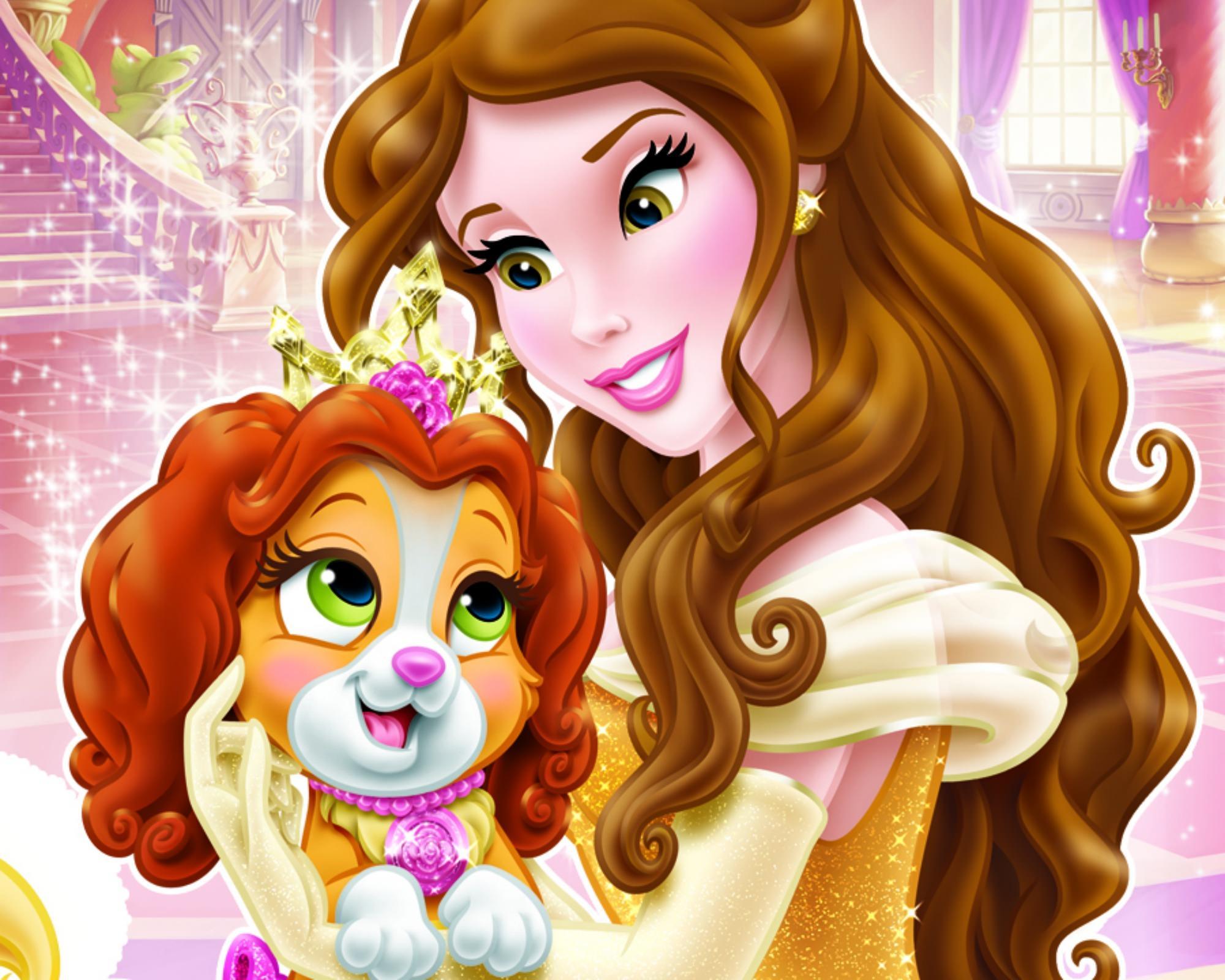 Teacup & Belle Disney Wallpaper