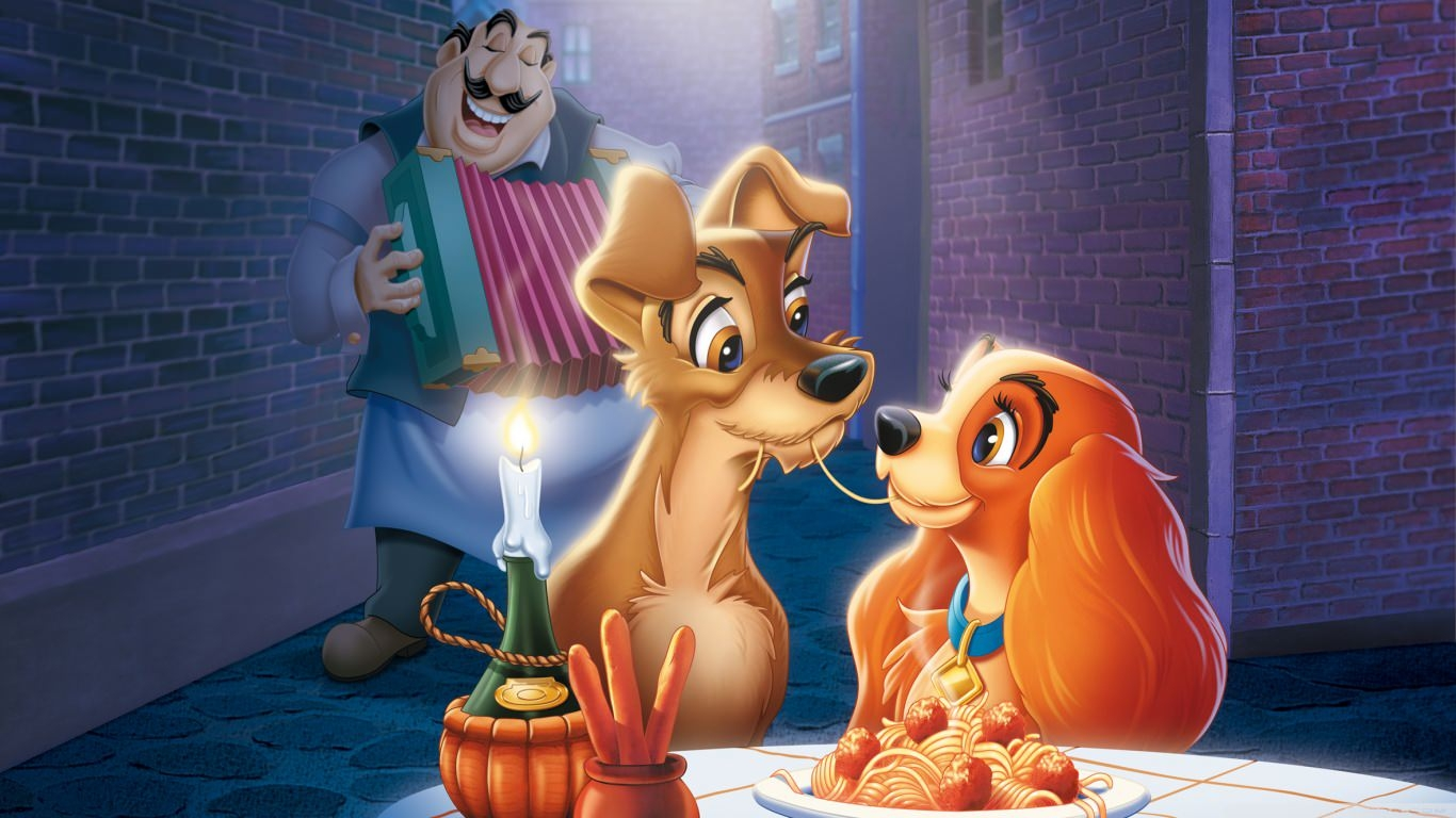 The Lady & the Tramp Wallpaper