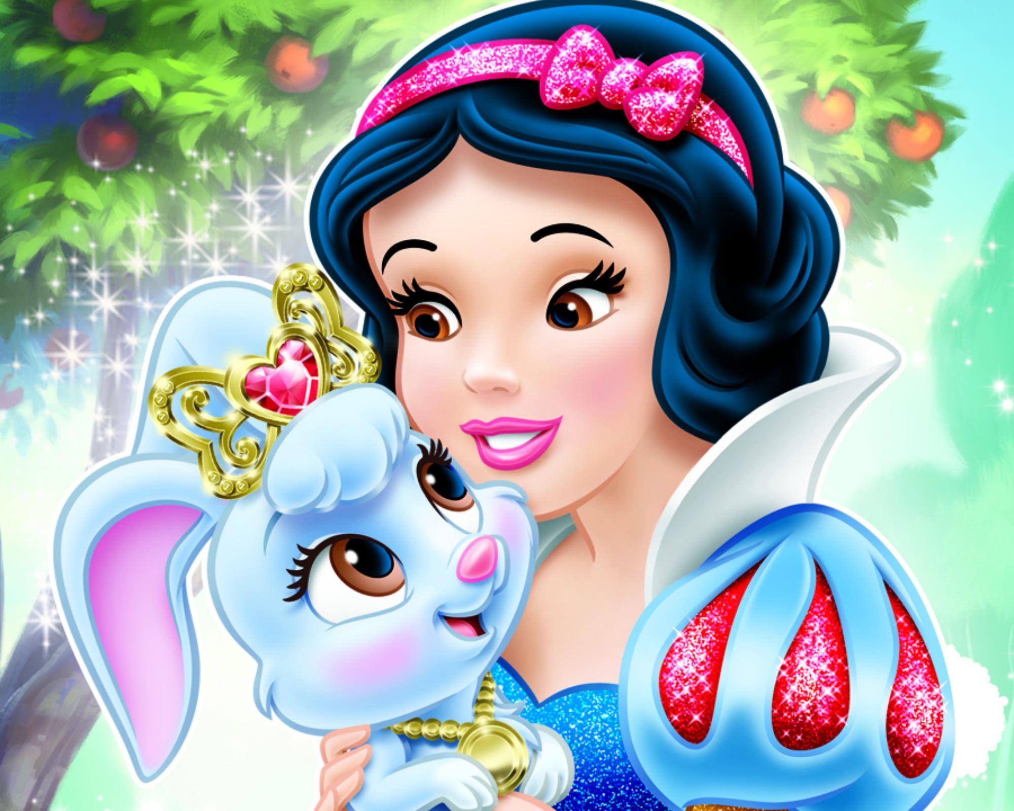 Berry & Snow White Disney Wallpaper