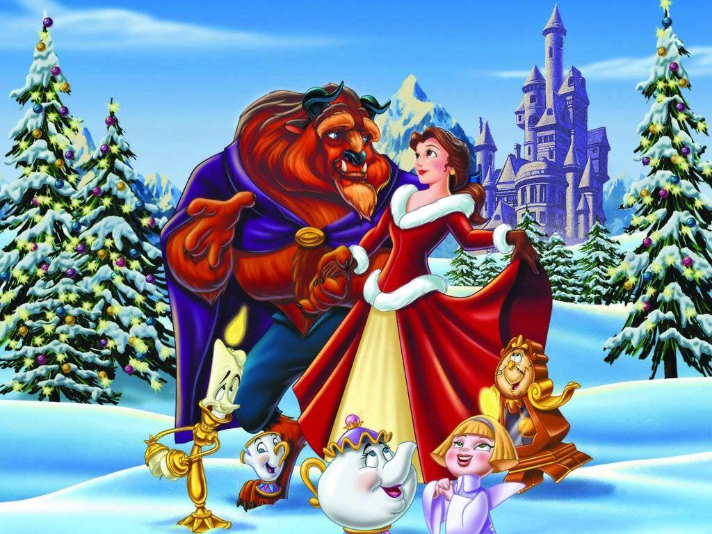Beauty & The Beast Disney Wallpaper