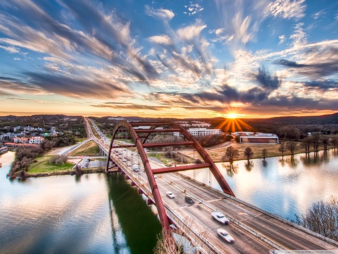 Pennybacker Bridge Texas wallpaper