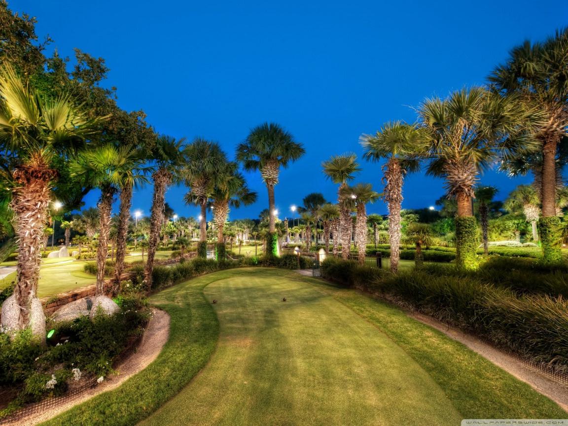 Golfing Course Texas Wallpaper