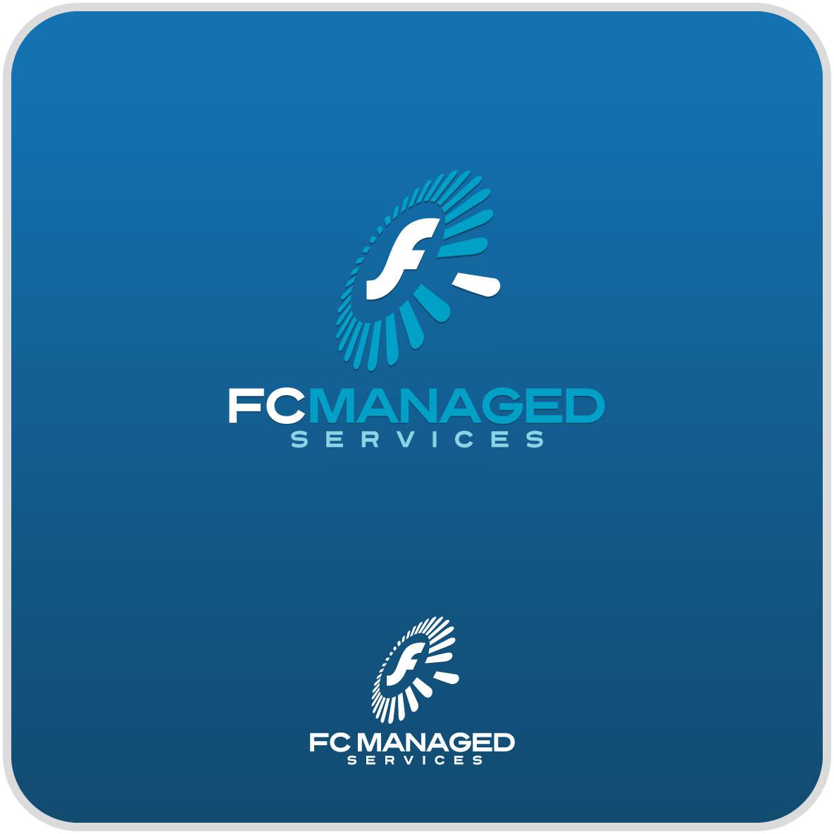 Blue Logo Design for Company