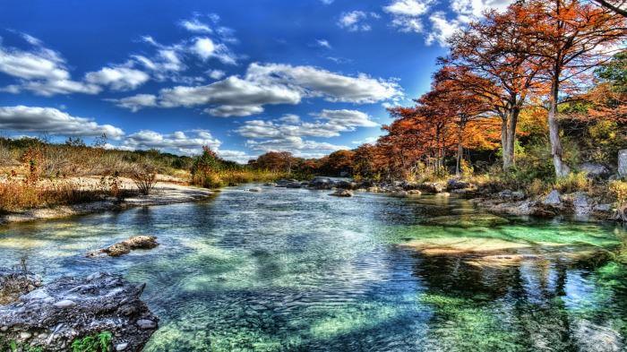 Stunning Texas River Wallpaper