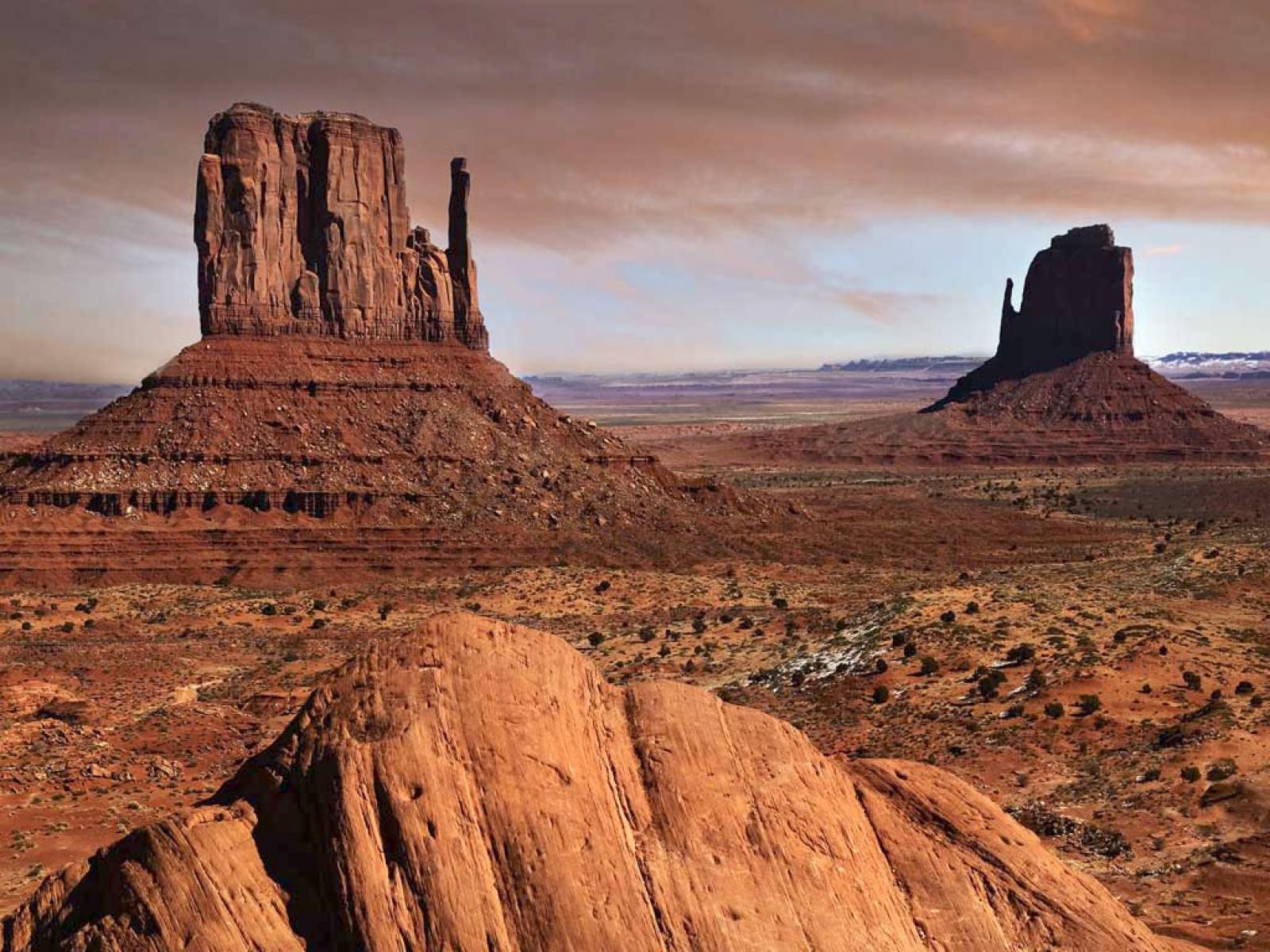 Texas Desert Wallpaper