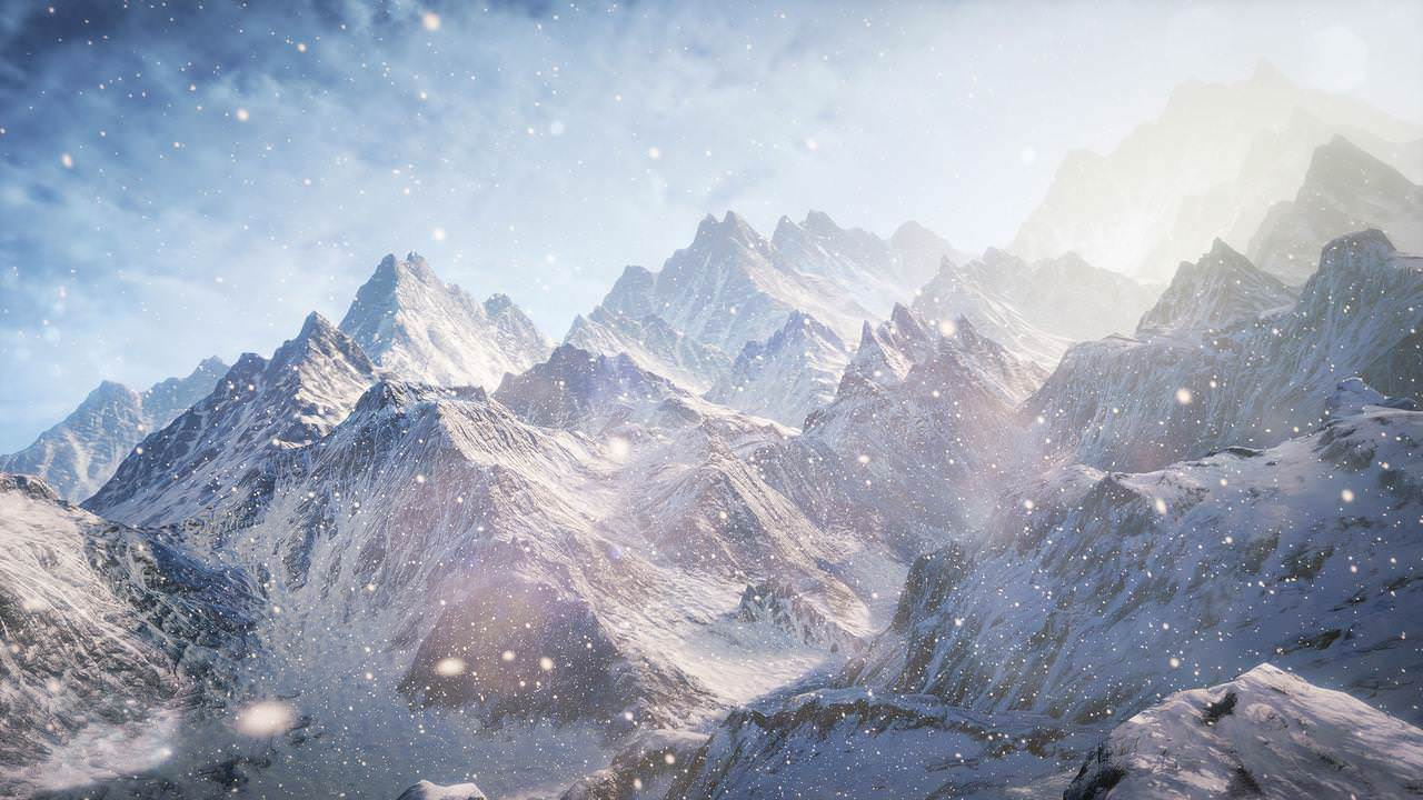 Mountain Scene Wallpaper For Free