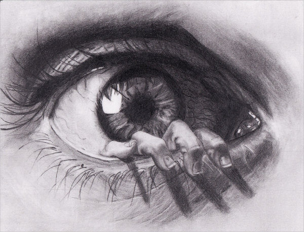 Funny Eye Drawing