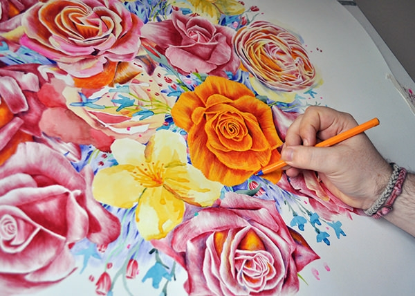Beautiful Flower Drawings