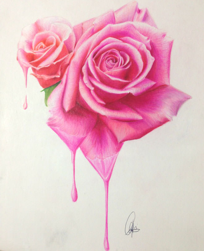 Amazing Flower Drawing